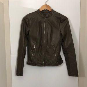 EXPRESS vegan leather jacket